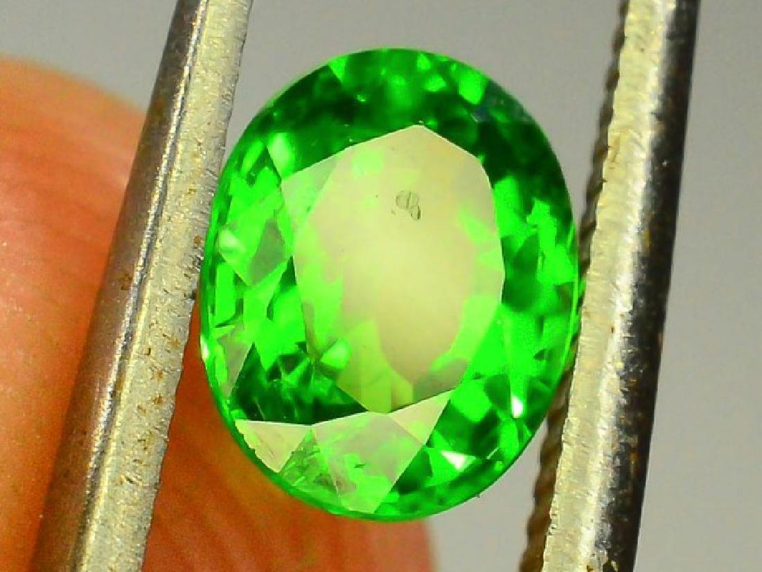0.80 ct Natural Green Tsavorite Garnet - 5