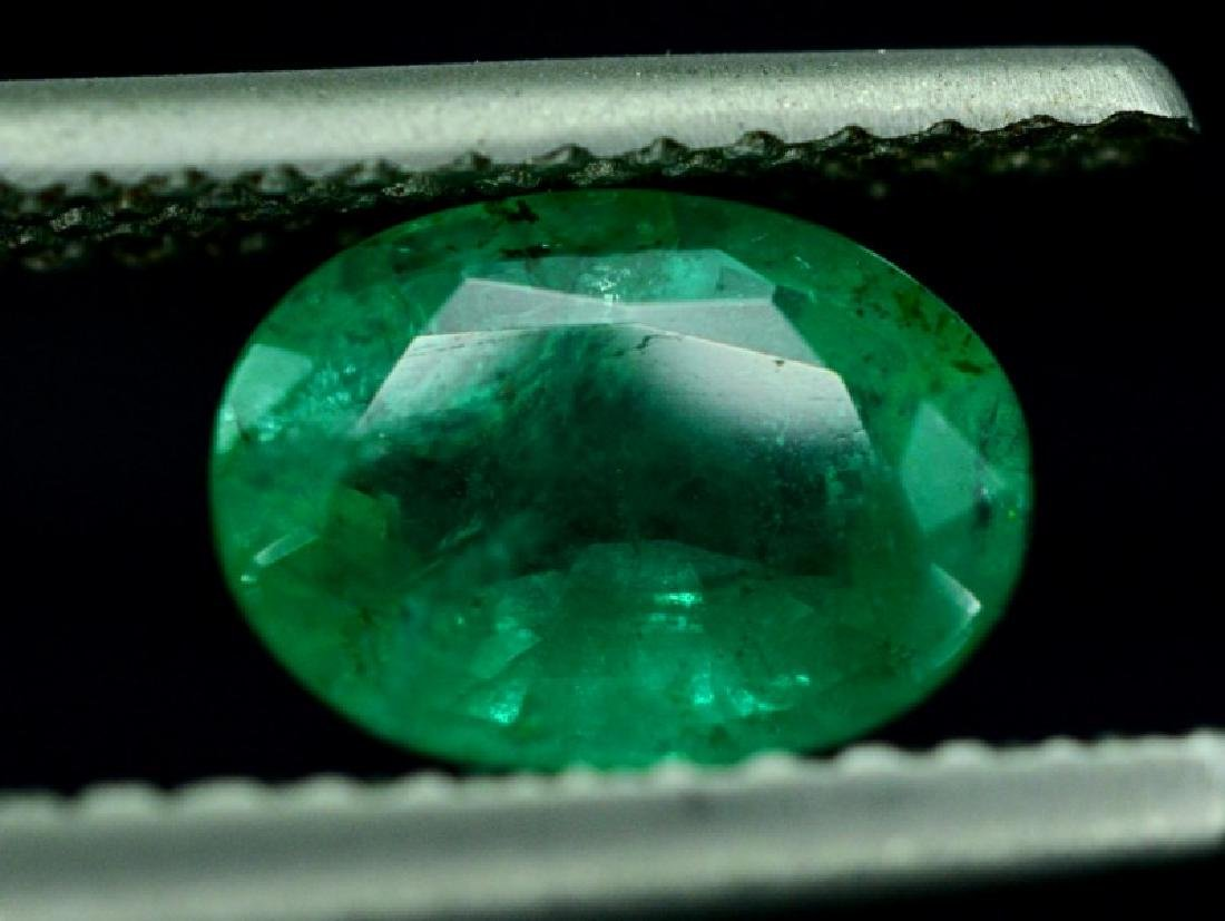 1.65 Carat Untreated Zambian Emerald Gemstone