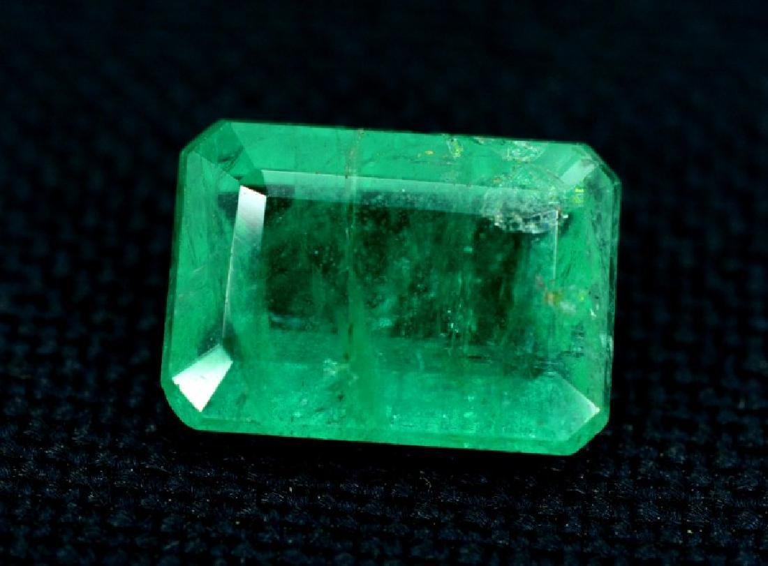 2.05 ct Untreated Emerald