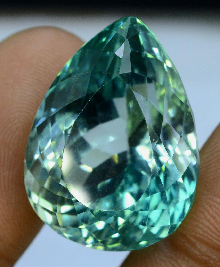 Lush Green Flawless Kunzite Loose Gemstone - 3