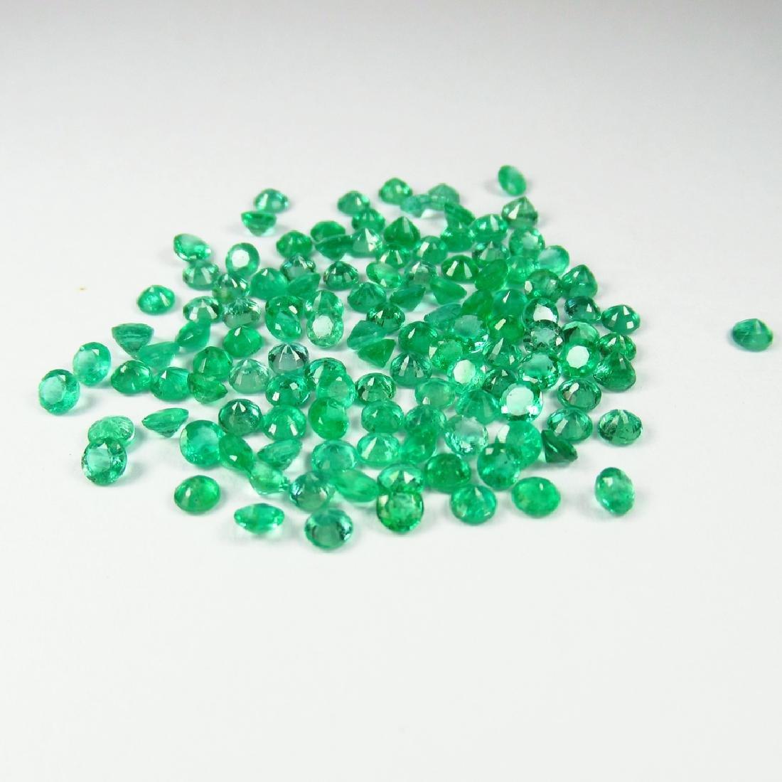 10.60 Carat Natural 123 Loose Emerald Round