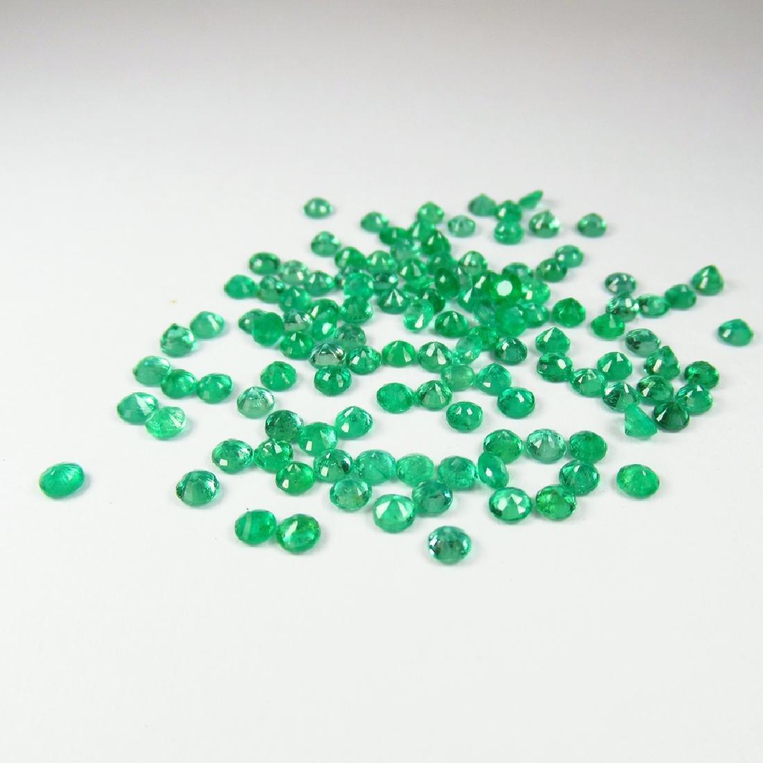 10.60 Carat Natural 123 Loose Emerald Round - 2