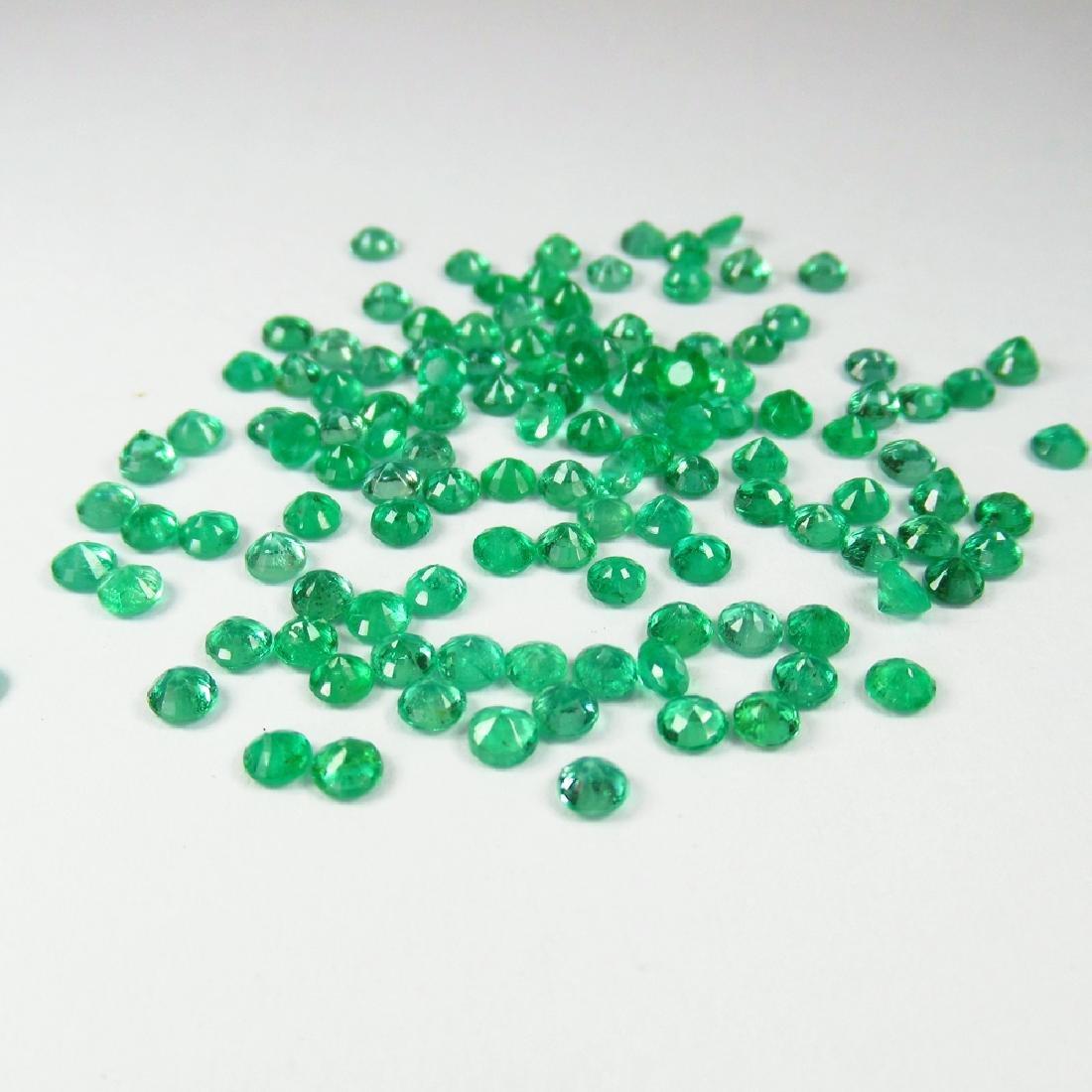 10.60 Carat Natural 123 Loose Emerald Round - 3
