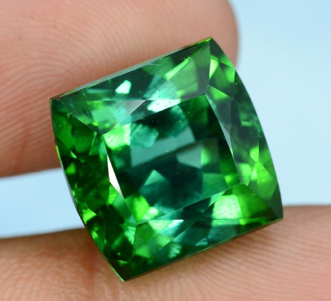 15.80 carats Flawless Natural Blue Green Tourmaline - 3