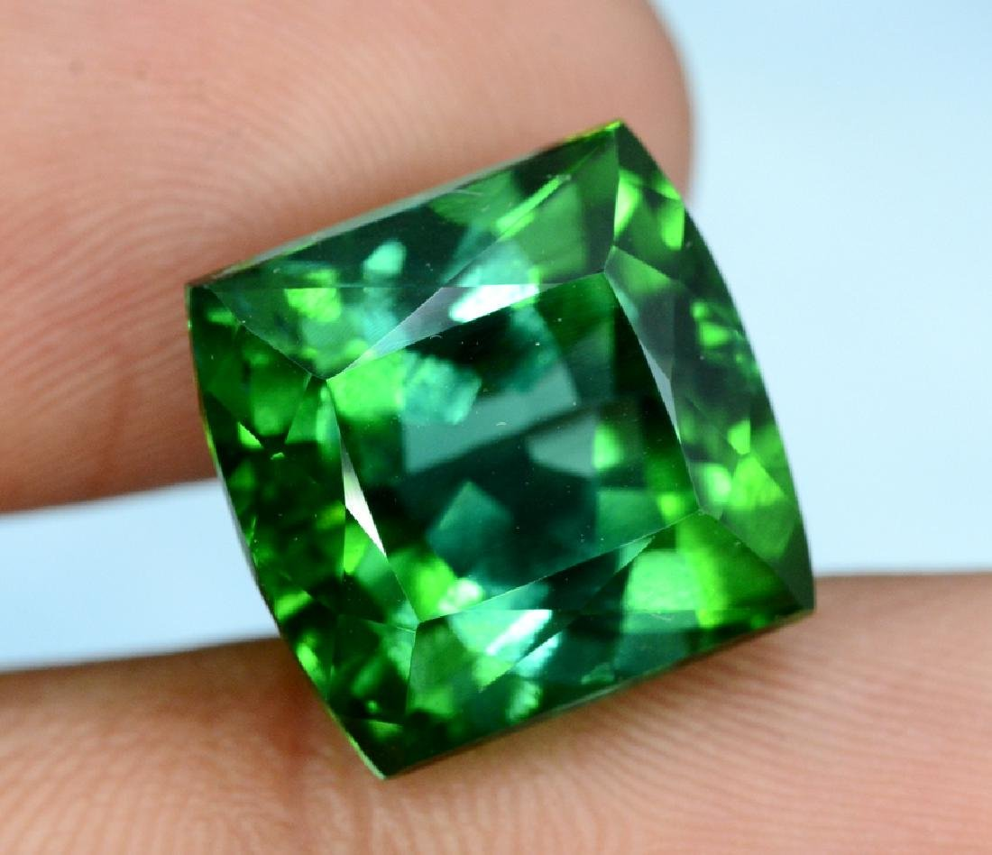 15.80 carats Flawless Natural Blue Green Tourmaline - 5