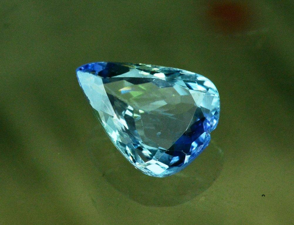 3.50 Carat Very Unique Bi Color Tanzanite Gemstone - 2