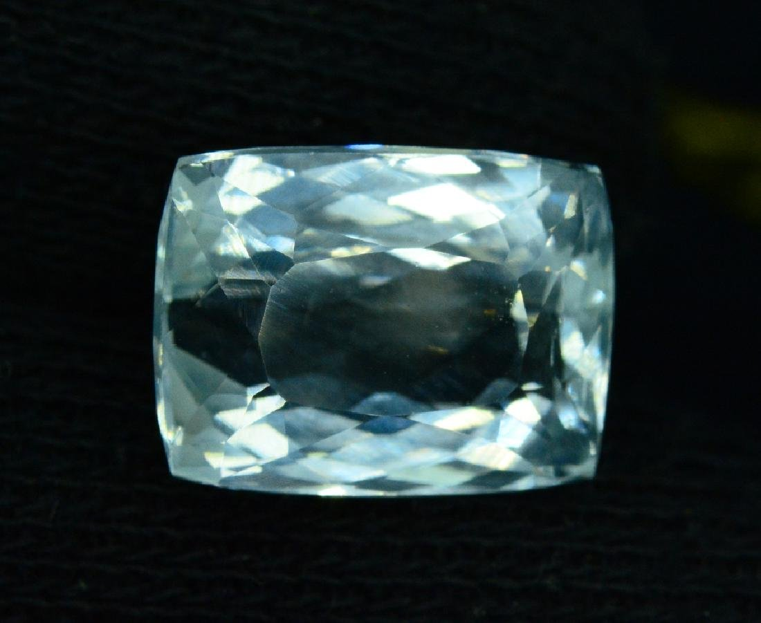 11.15 Carat Natural Aquamarine - 4
