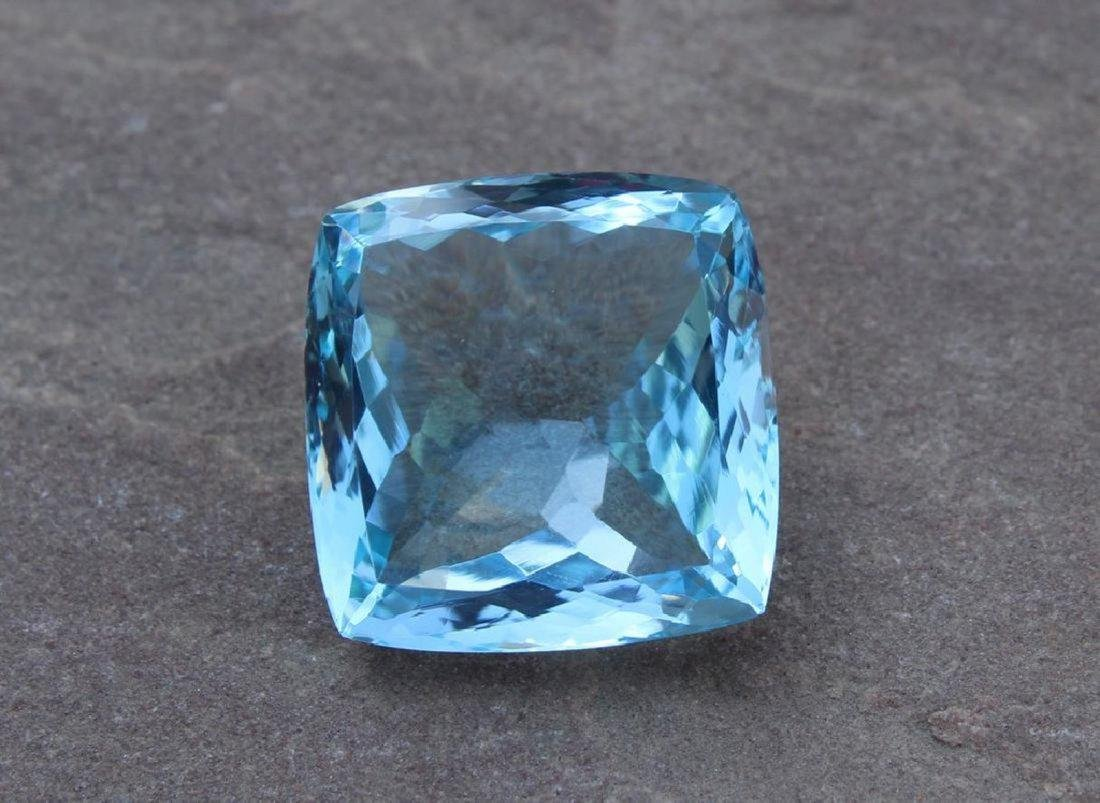 25.97 Carat Loose Blue Topaz with IGI Certificate