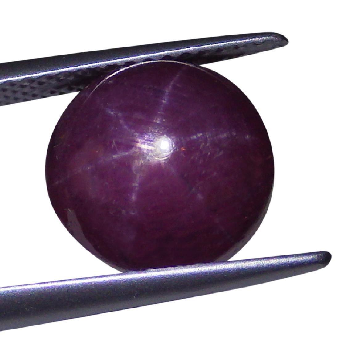 2.29 Carat Loose Round Star Ruby