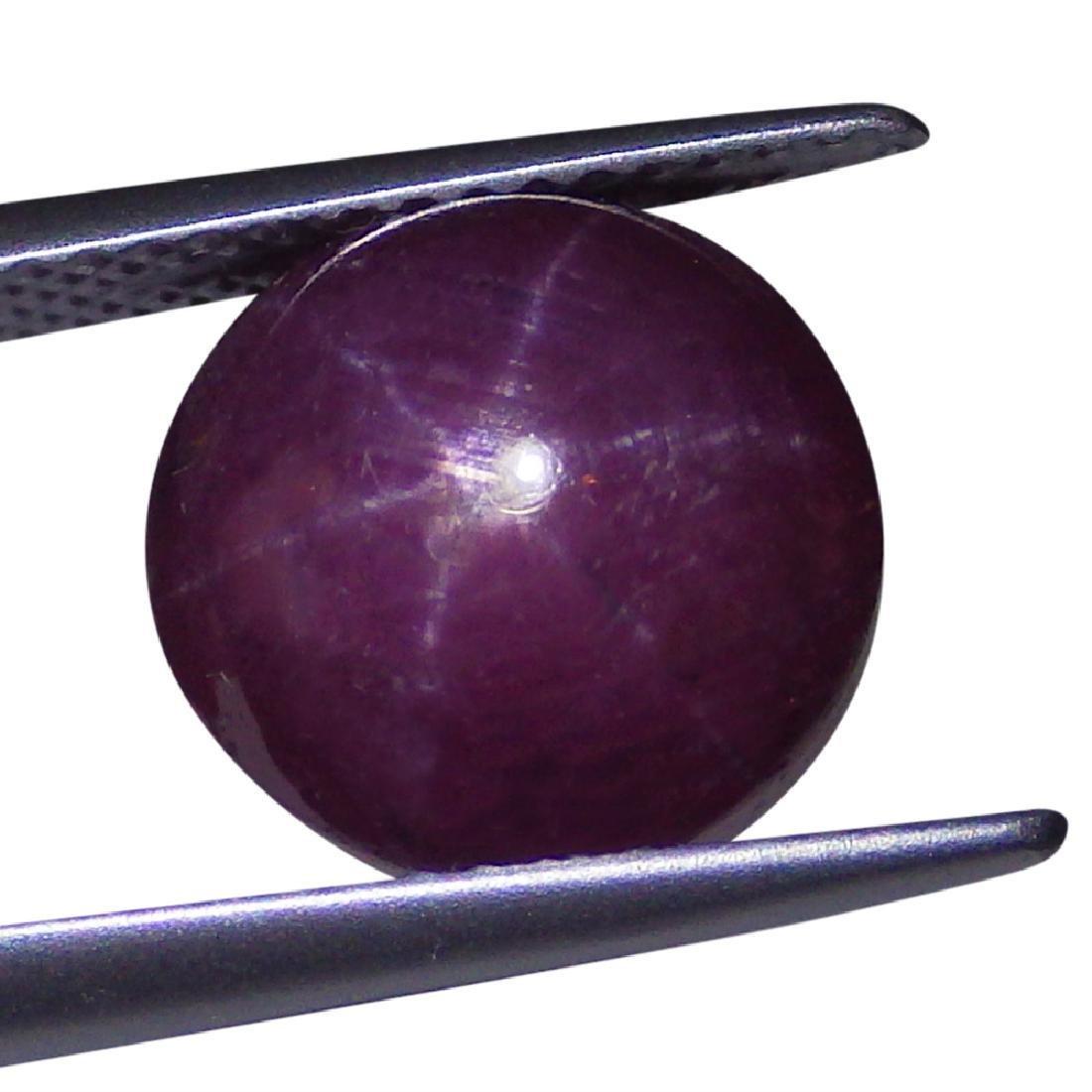2.29 Carat Loose Round Star Ruby