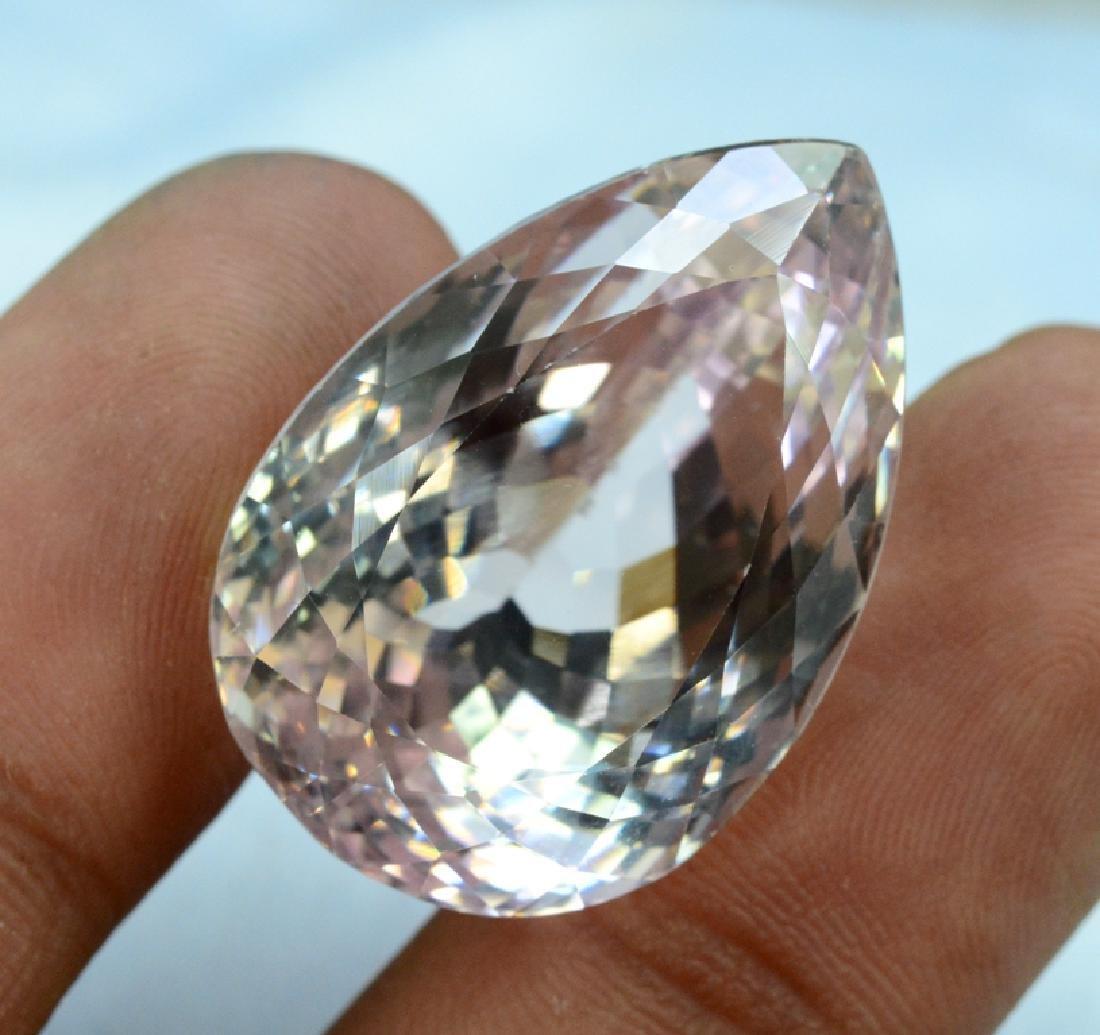 64.55 carats Natural Peach Pink Color Kunzite Loose - 2