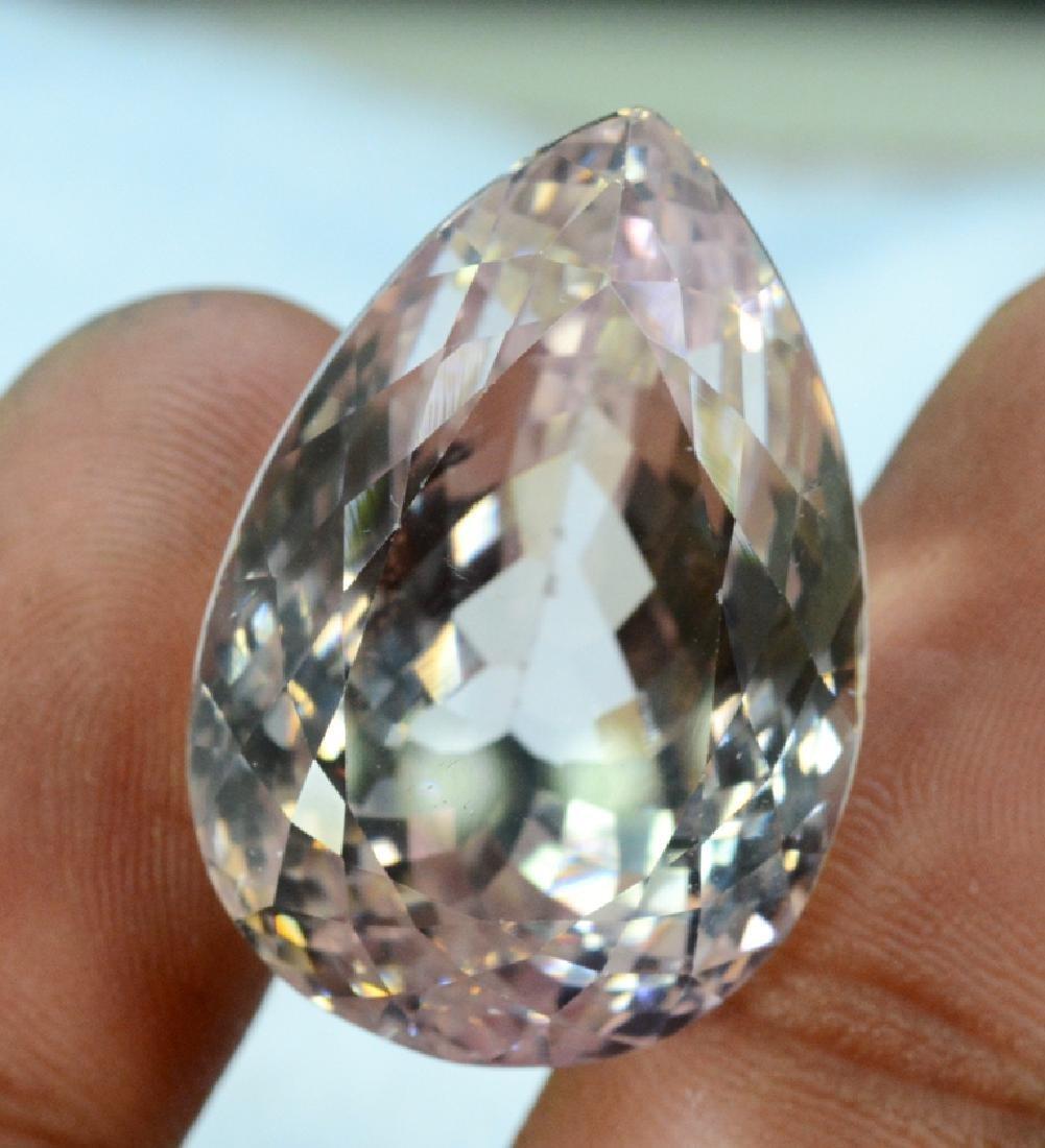 64.55 carats Natural Peach Pink Color Kunzite Loose - 4