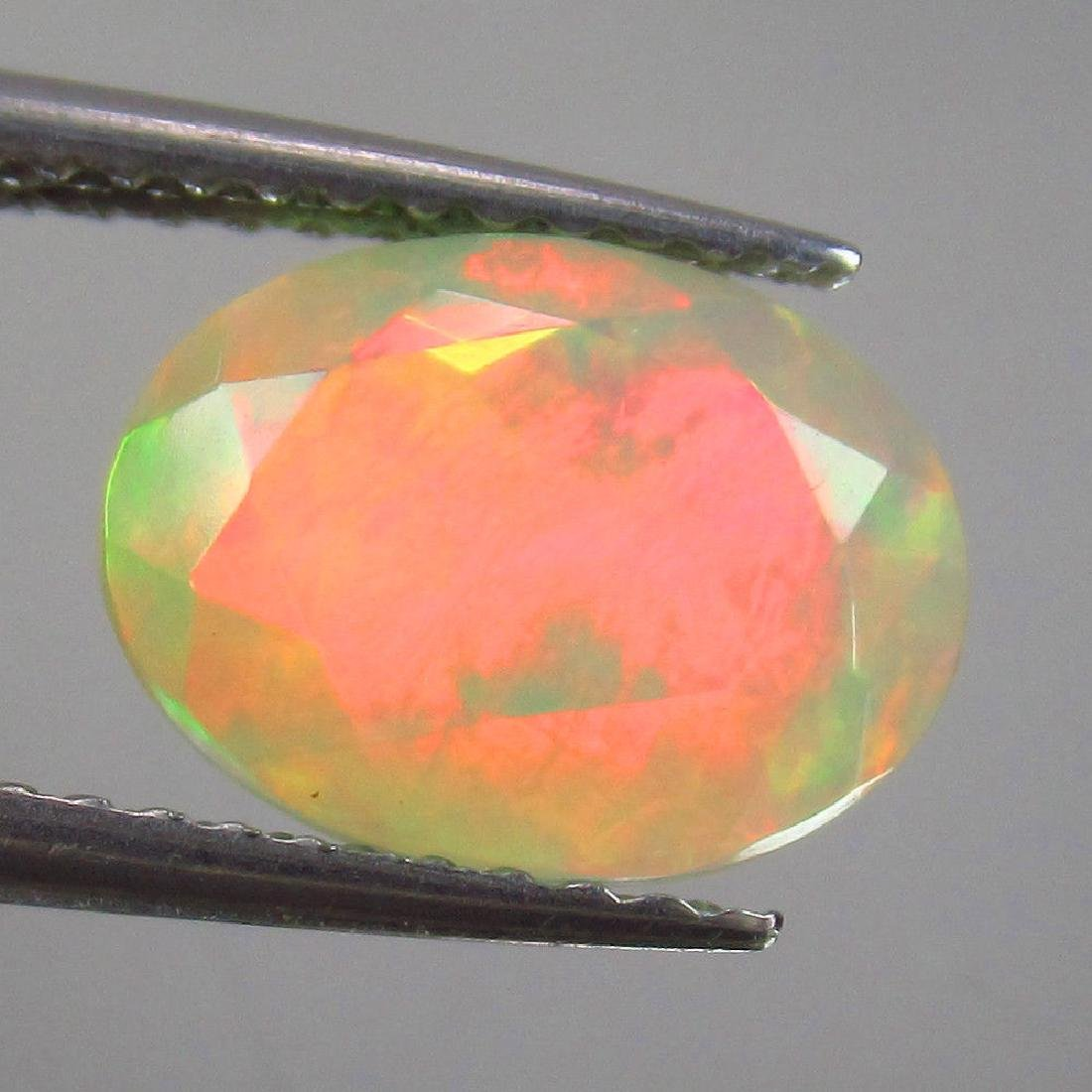 1.79 Carat Natural Loose Faceted Welo Opal