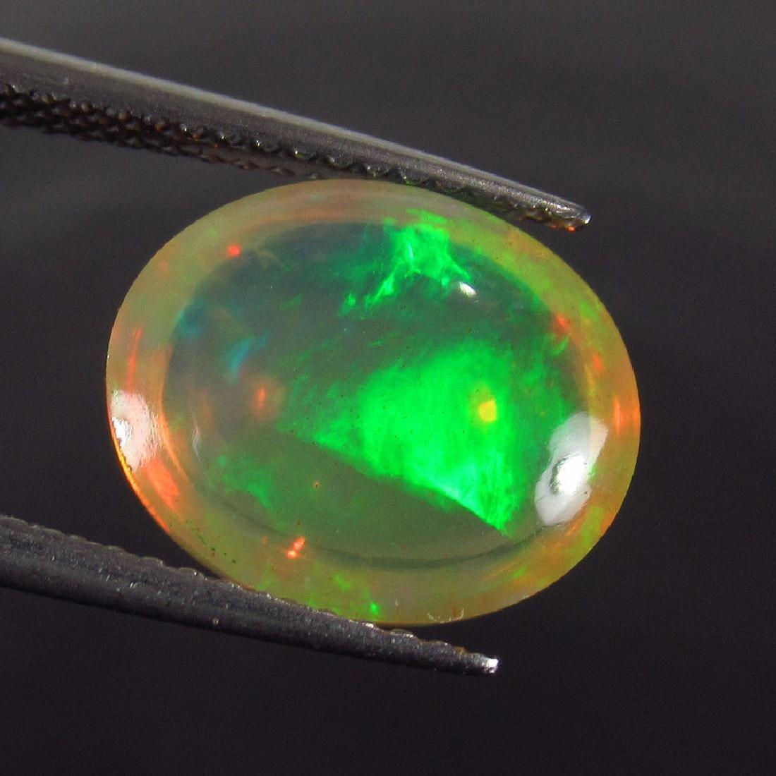 3.76 Carat Natural Loose Ethiopian Welo Opal - 2