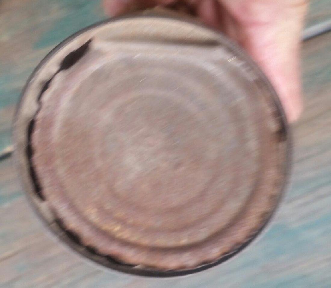 Conewago Sugar Corn Tin Can Indian Full Headdress Chief - 4