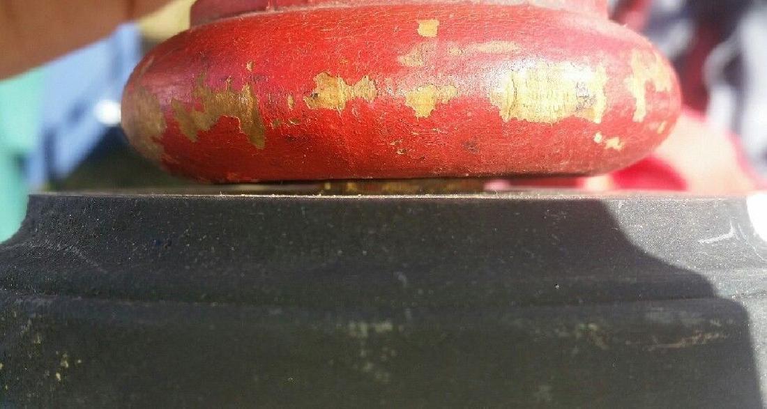 Antique 19th Century Walnut Wooden Finial - 3