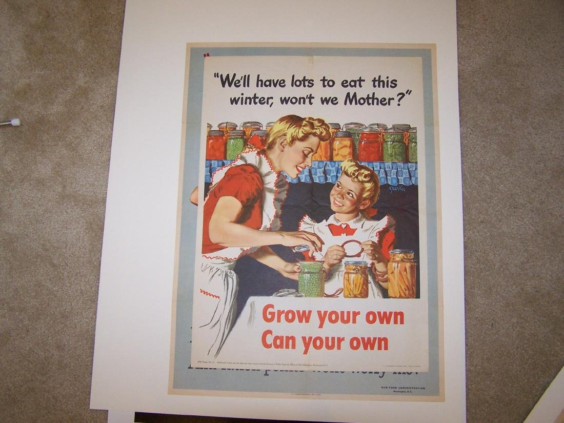 Grow Your Own Food World War II Poster 1943