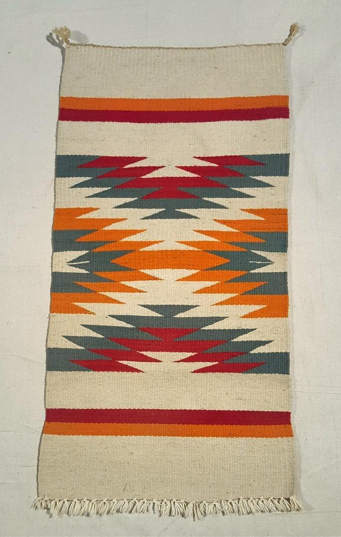 Small Navajo Ganado Table Runner Ca 1930