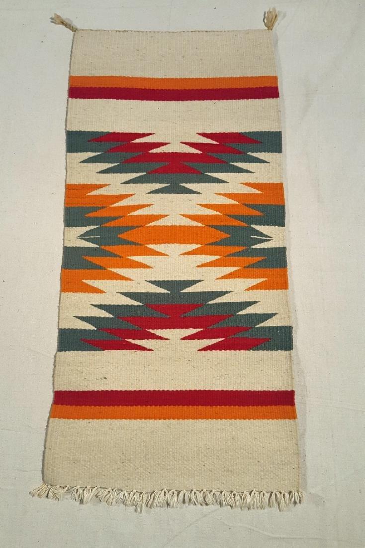 Small Navajo Ganado Table Runner Ca 1930 - 3