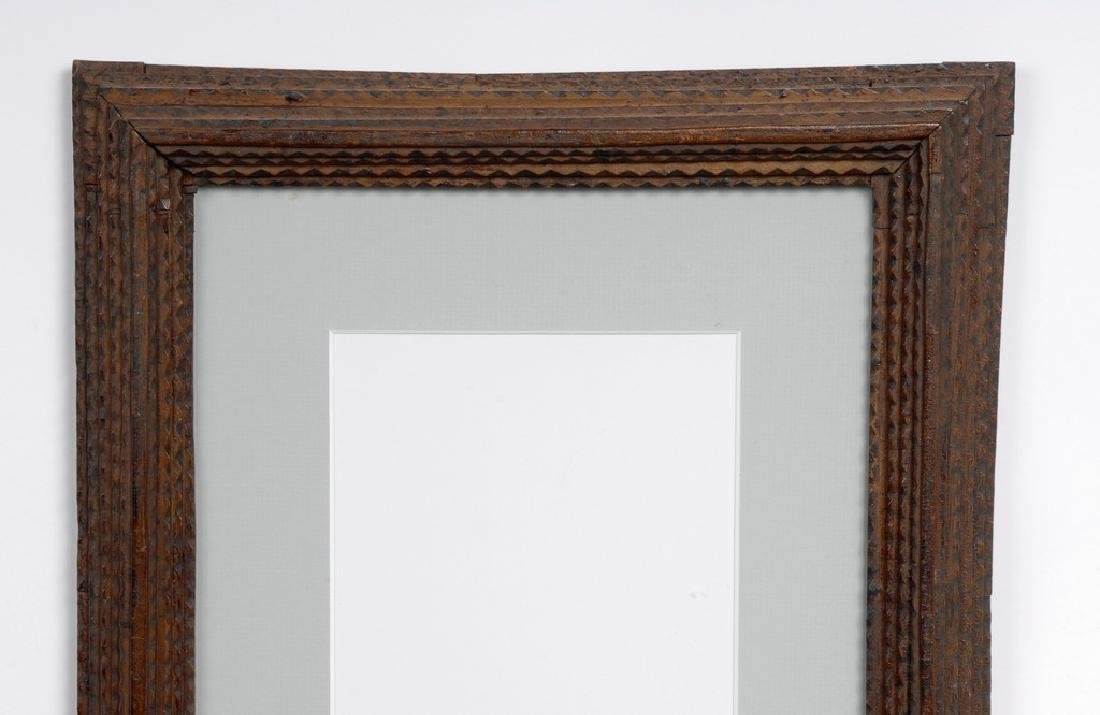 Tramp Art Frame - 2