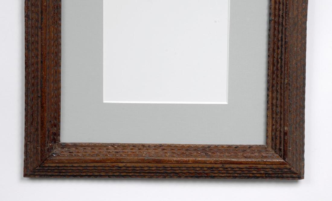 Tramp Art Frame - 3