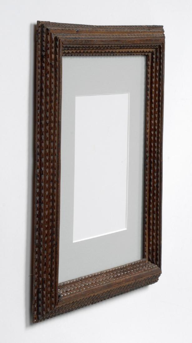 Tramp Art Frame - 4