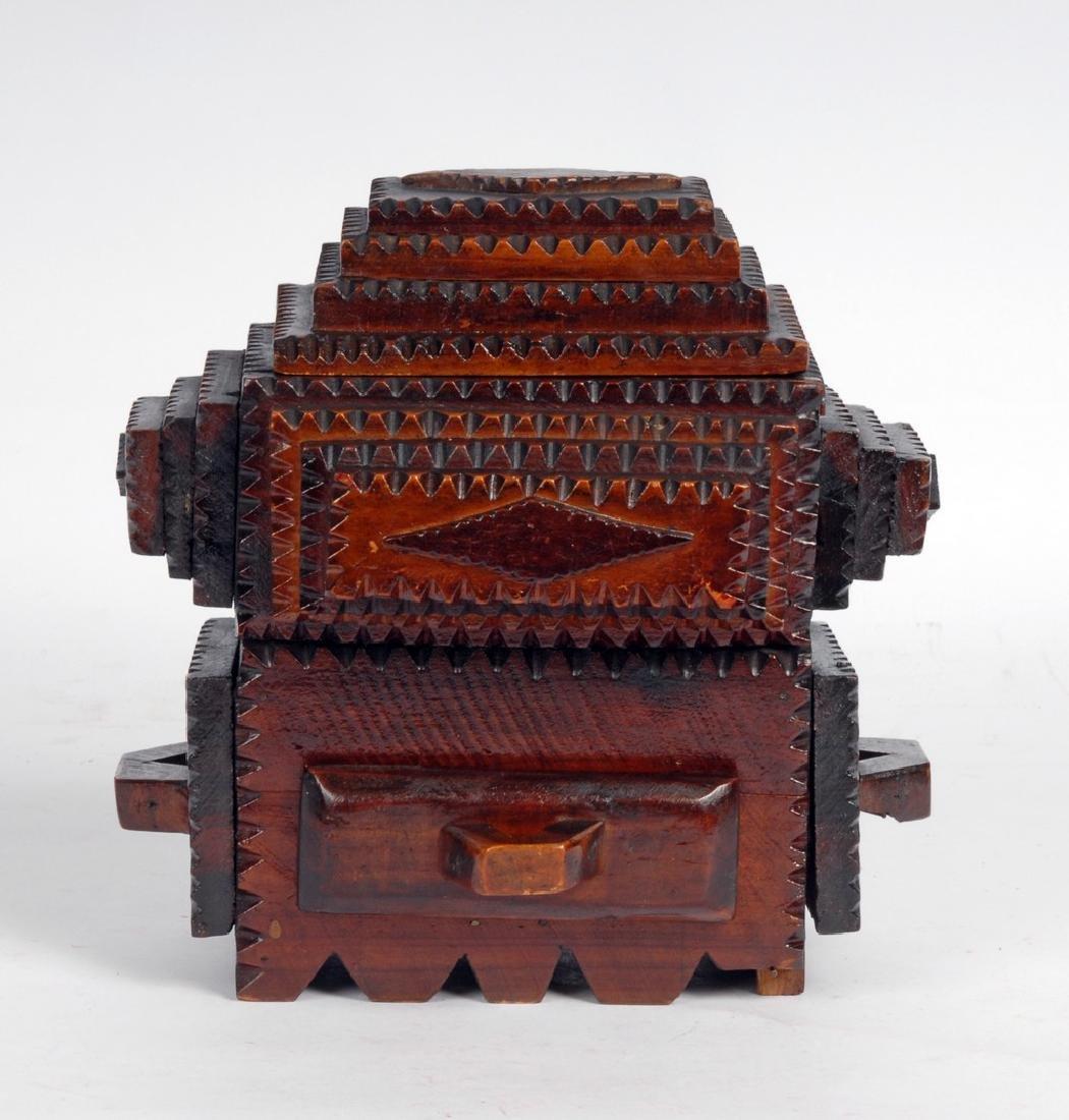 Tramp Art Box by Gus Wynn