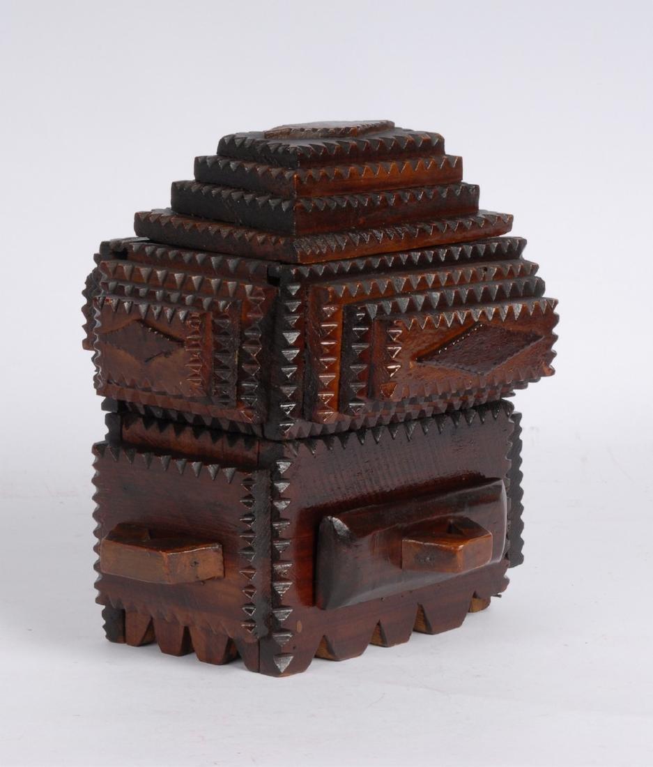 Tramp Art Box by Gus Wynn - 2