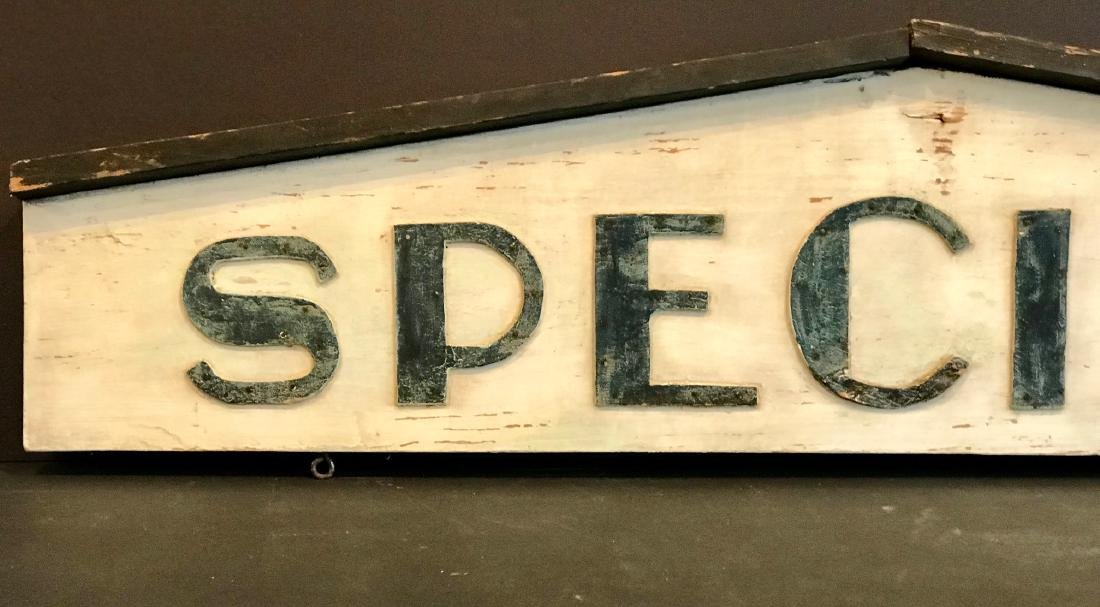 Specials Country Market Sign, Early 20th Century - 2