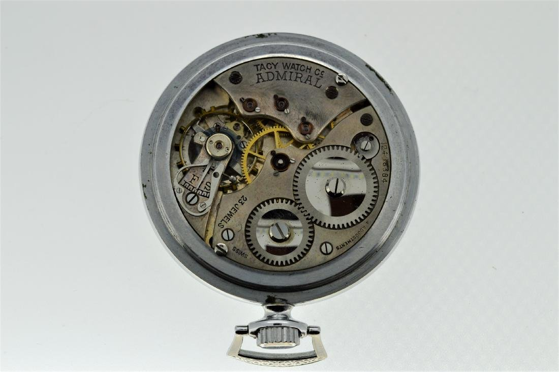 Tacy Watch Company Admiral Pocketwatch - 3