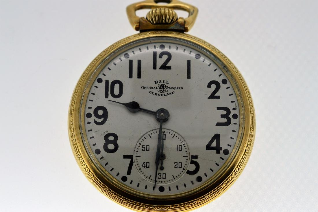 Ball Gold-Filled Pocketwatch