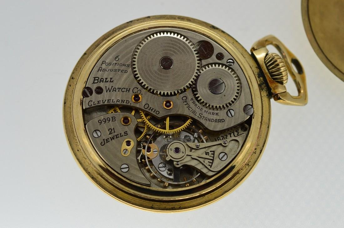 Ball Gold-Filled Pocketwatch - 3