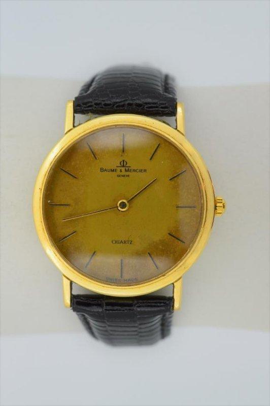 Vintage Baume & Mercier Men's 14k Yellow Gold Classima