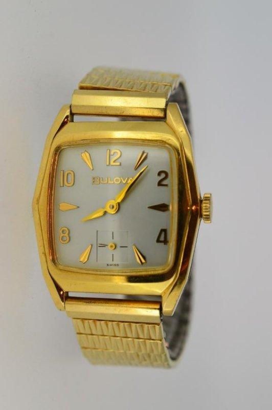 Men's Bulova 14k Gold Filled Watch