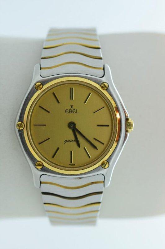 Ladies EBEL Classic Wave two-tone Quartz Watch