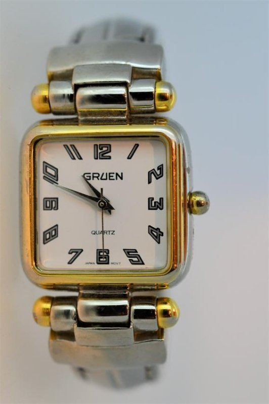 Ladies Gruen Spring Loaded Bracelet Watch