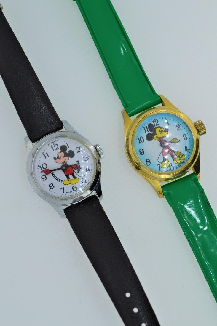 Lot of Mickey Mouse Watches