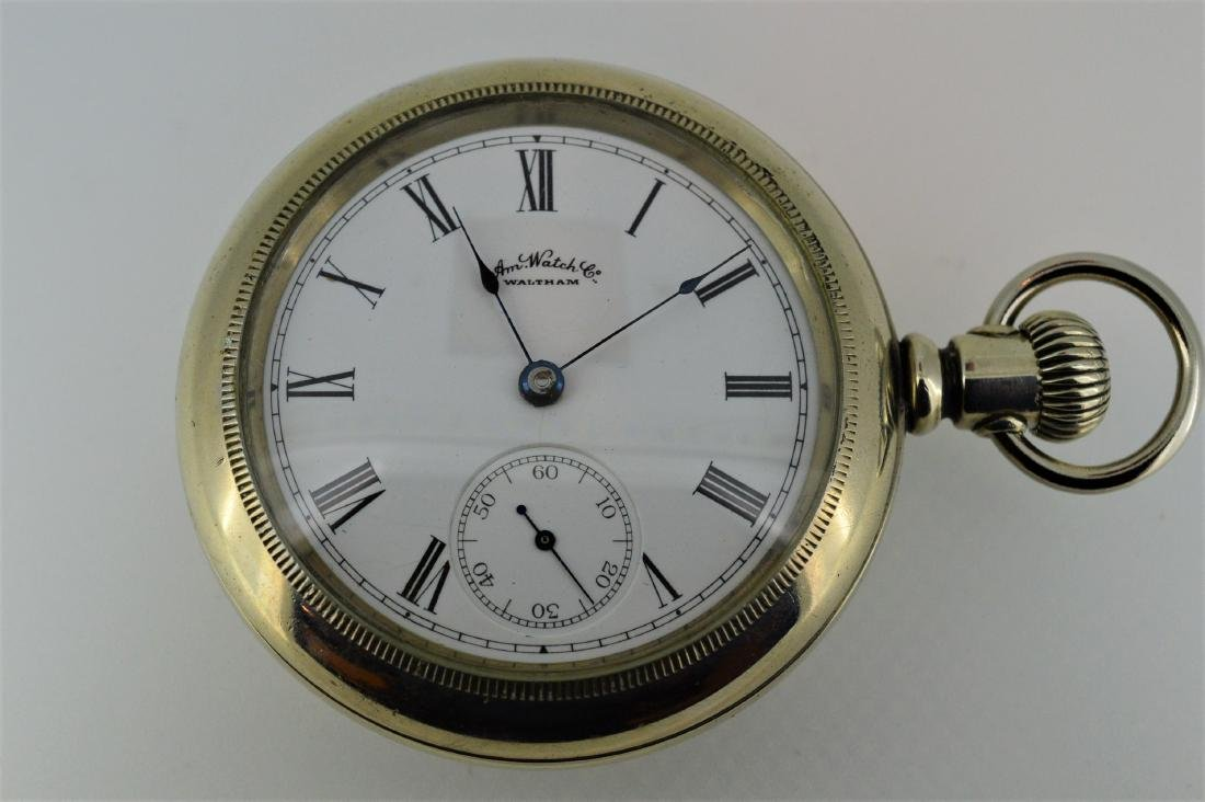 Waltham American Watch Company Stainless Steel Display