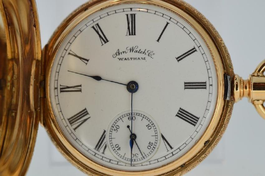 Waltham American Watch Company 14k Yellow Gold
