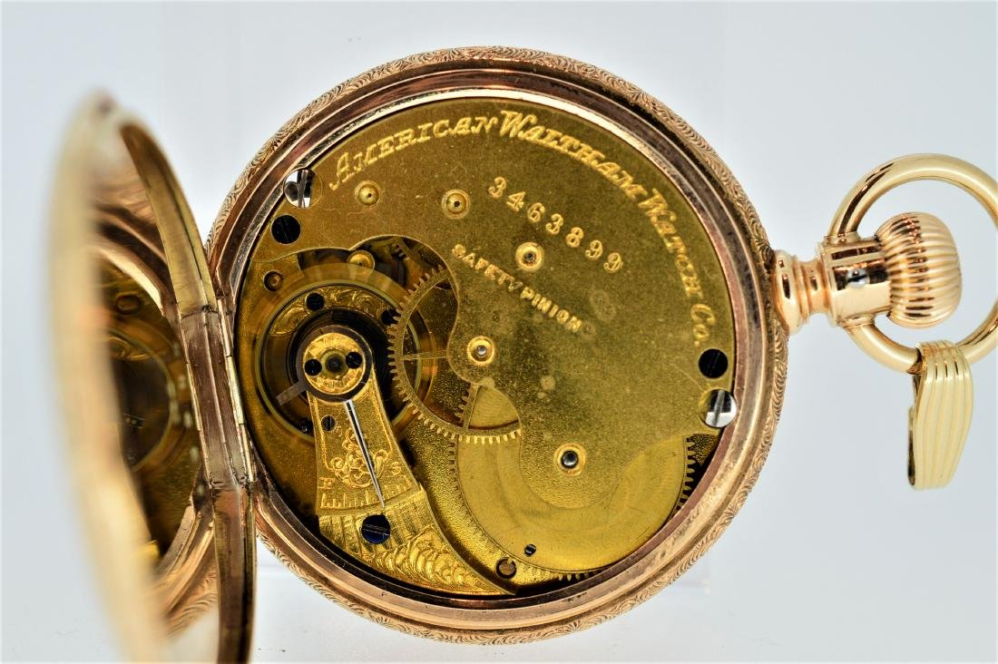 Waltham American Watch Company 14k Yellow Gold - 4