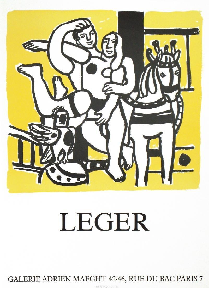 Fernand Leger Lithograph