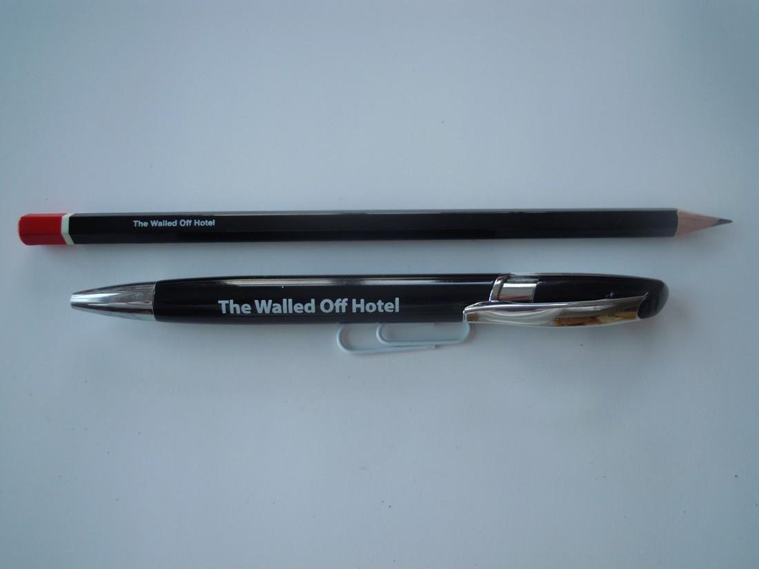 Banksy Woodblock & Walled Off Hotel Collectibles - 2