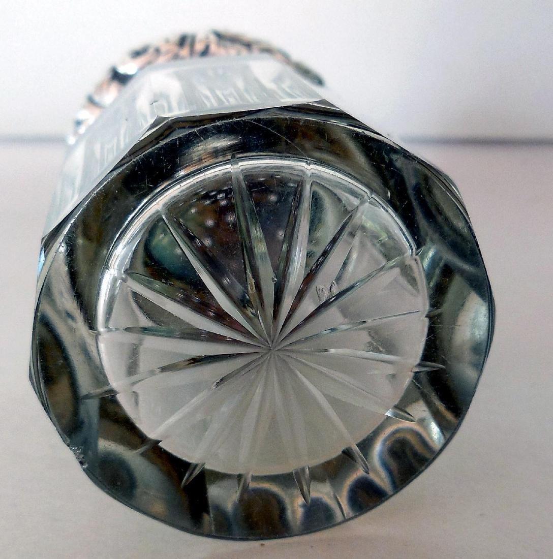 Antique Victorian Sterling-Topped Vanity Jar - 5