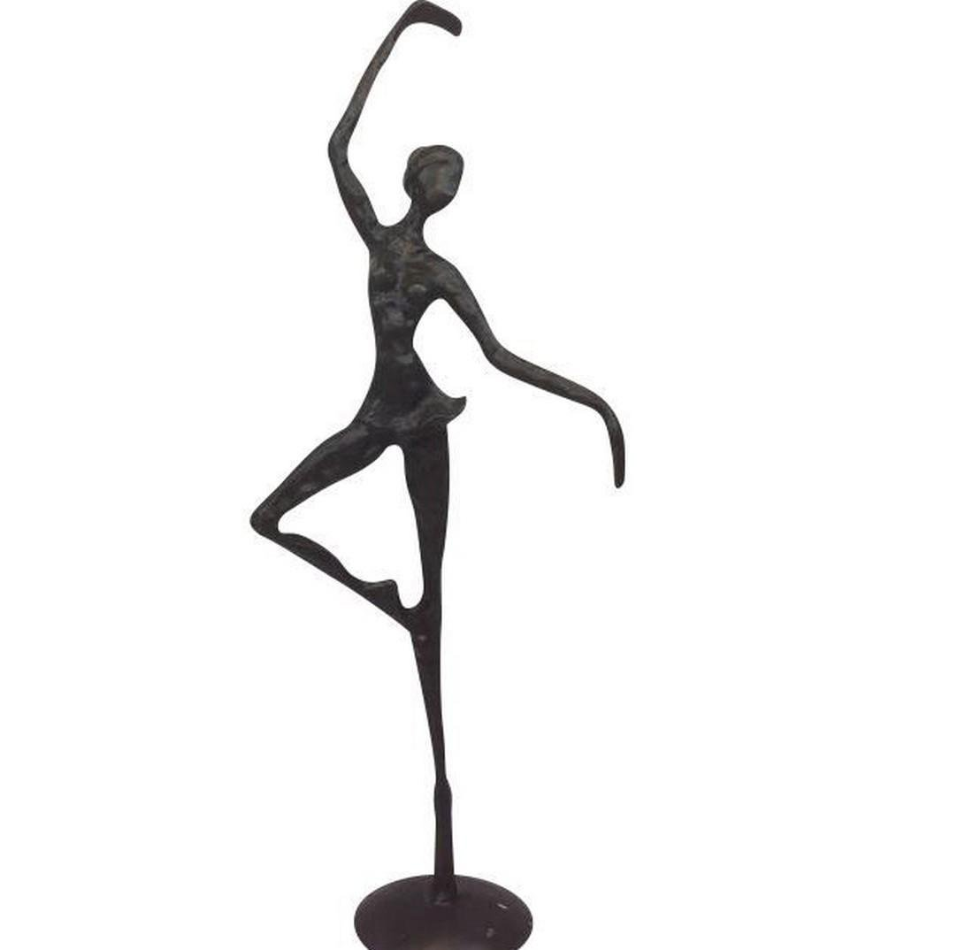Bronze Ballerina Statue - Second Half of 20th Century