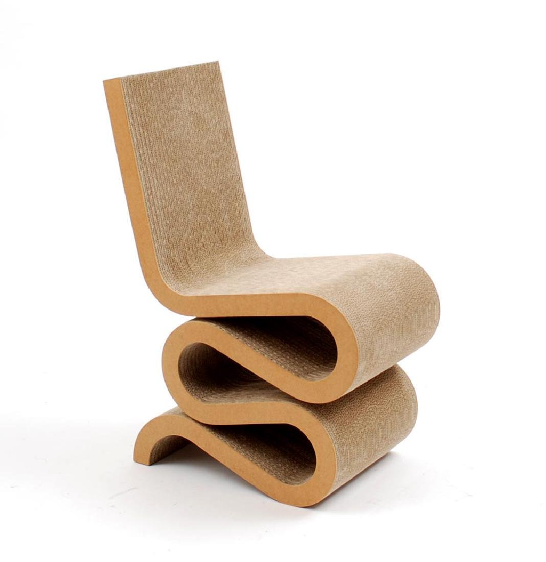 Frank Gehry Wiggle Chair, 1972