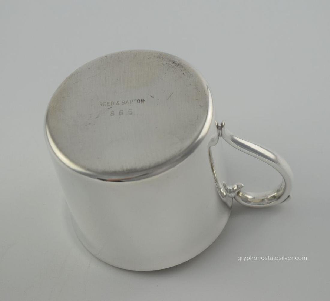 Reed & Barton Silverplate Baby Cup w/ Original Box - 4