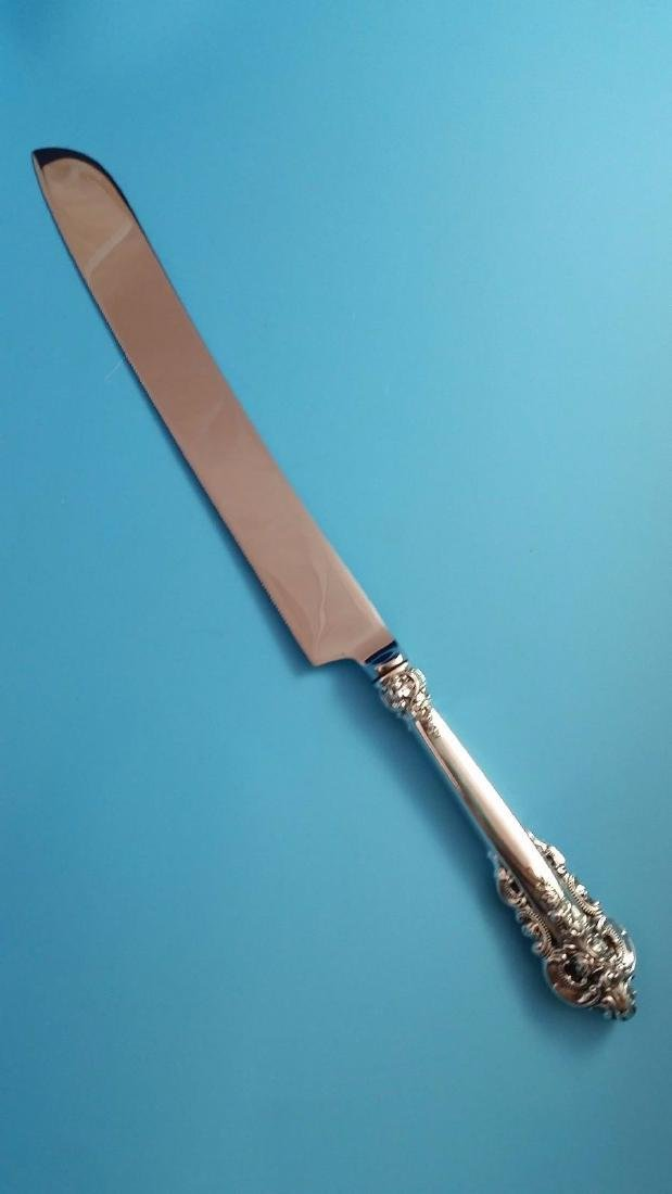 Wallace Grande Baroque Sterling Silver Cake Knife