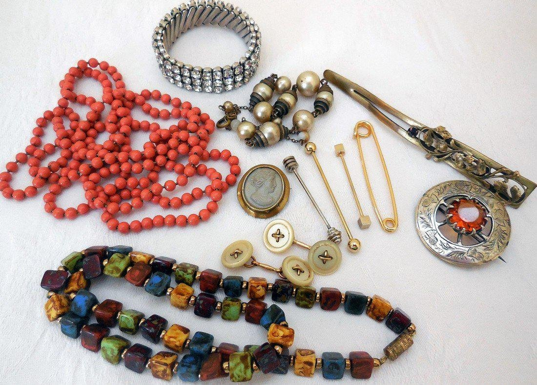 Lot of Antique & Vintage Jewelry