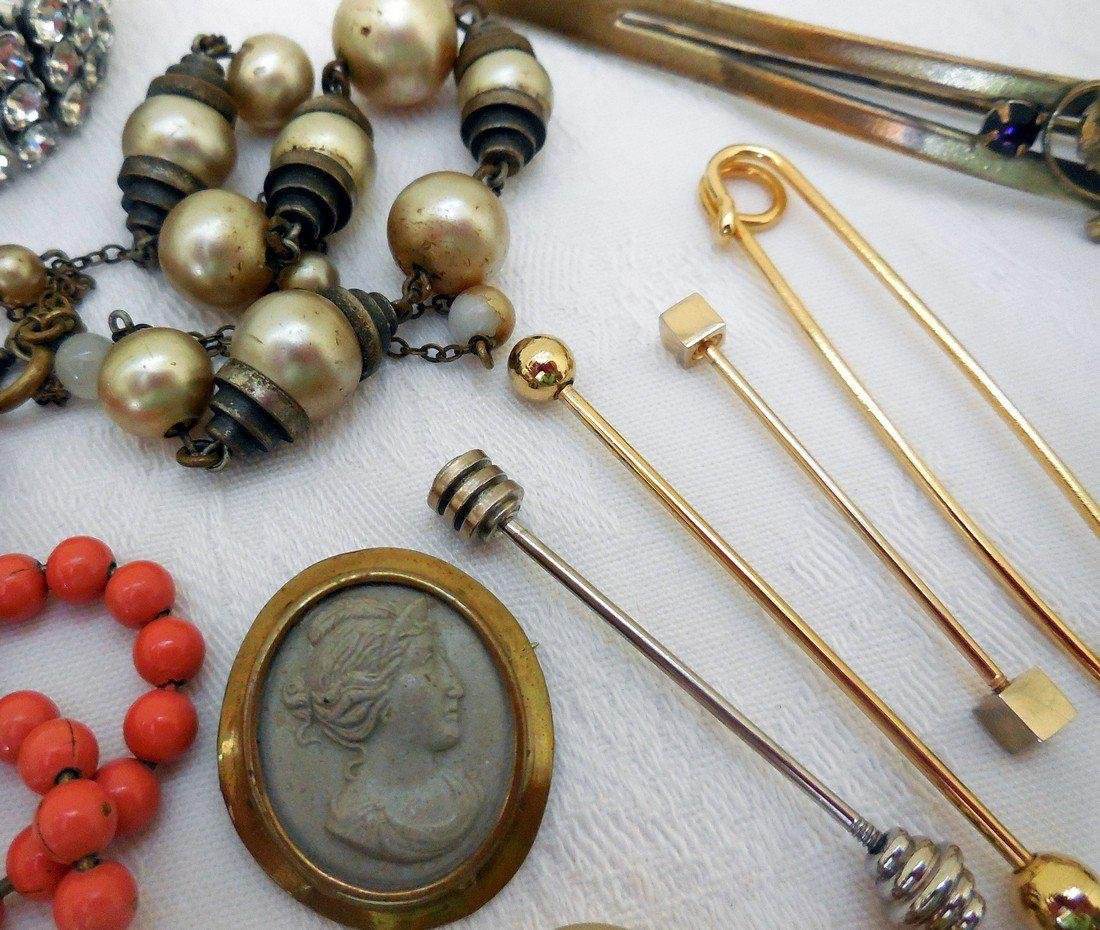 Lot of Antique & Vintage Jewelry - 3