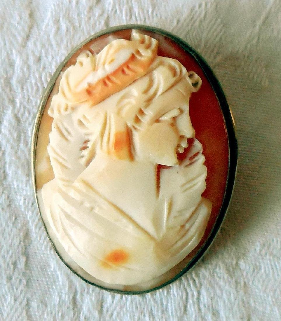 Antique Carved Shell Cameo, 1910